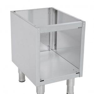 offener Unterbau für Tischgeräte, 400x635x580 mm
