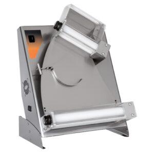 Teigausroller – 2 Rollen – Pizzadurchmesser: 14-30 cm – Teiggewicht: 80-210 gr