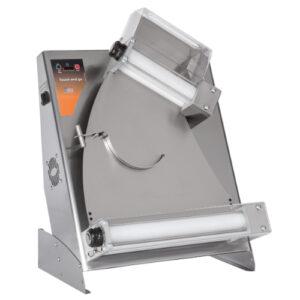 Teigausroller Touch & Go – 2 Rollen – Pizzadurchmesser: 14-30 cm – Teiggewicht: 80-210 gr