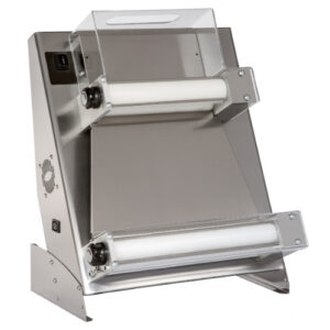 Teigausroller – 2 Rollen/obere gerade – Pizzadurchmesser: 26-45 cm – Teiggewicht: 220-1000 gr